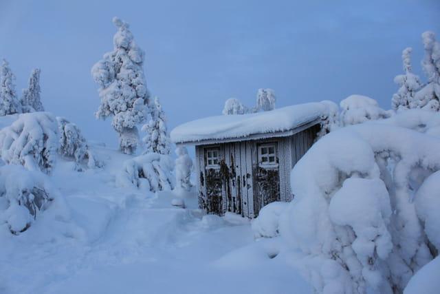 En Laponie finlandaise