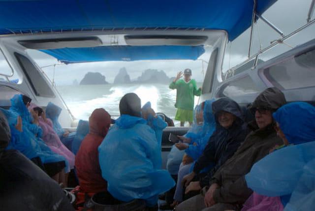 en route pour l'île de James Bond sous la mousson