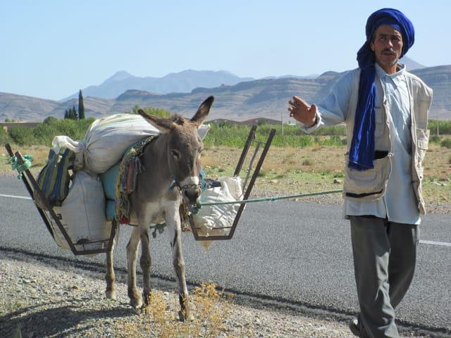 En route pour le souk