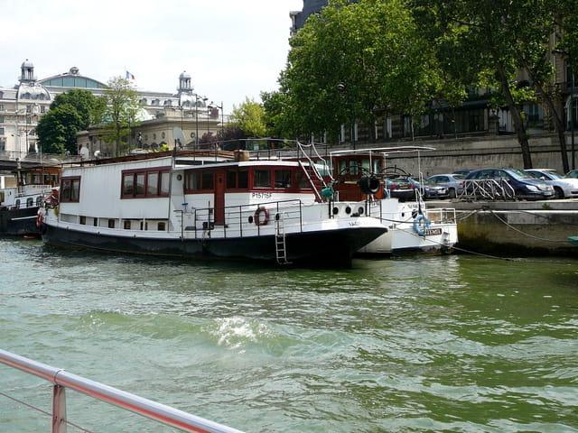 En route pour une petite croisièe sur la Seine à Paris 6