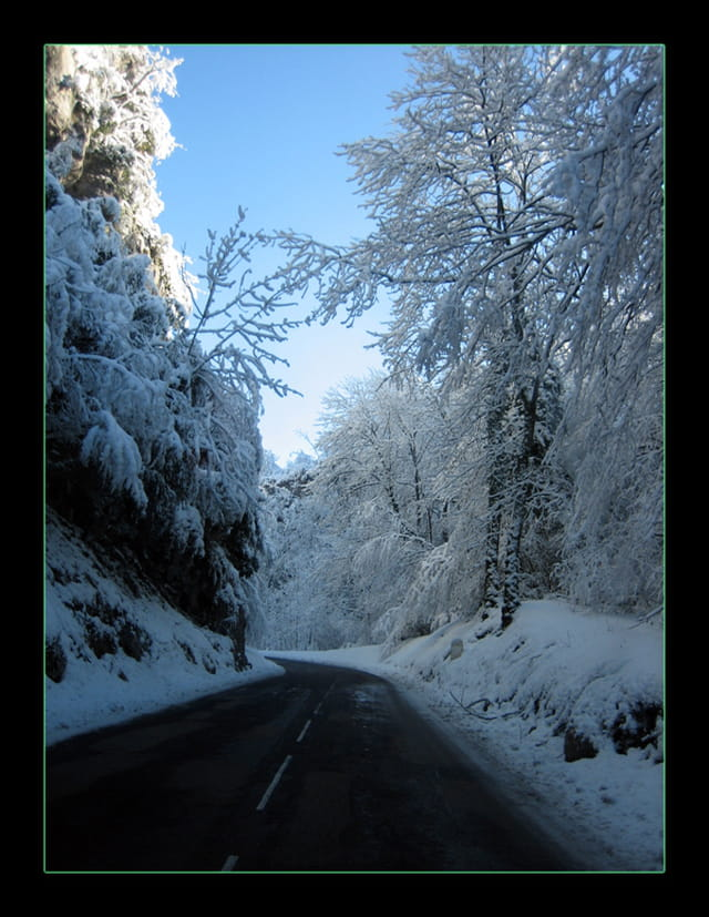 En route vers l'hiver