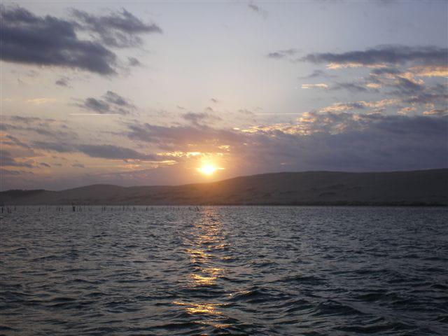 Encore un lever de soleil sur la dune