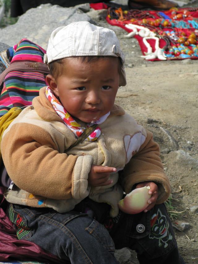 Enfant tibétain
