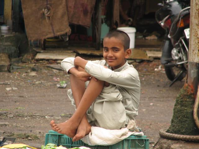 Enfant vendeur