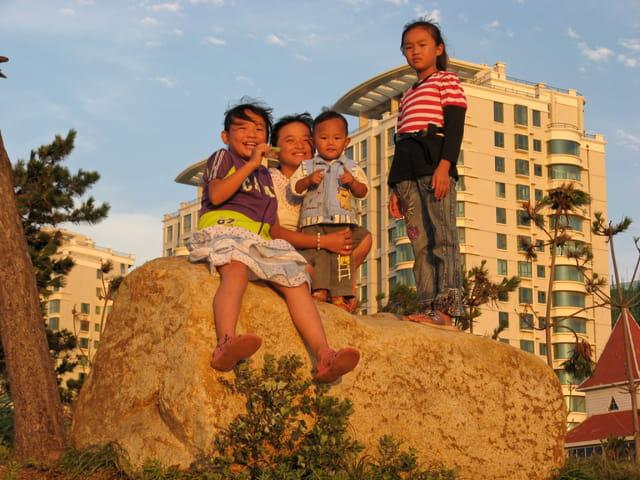 Enfants à Wheihai