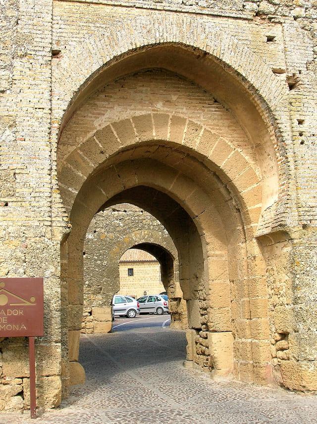Enfilade d'arches