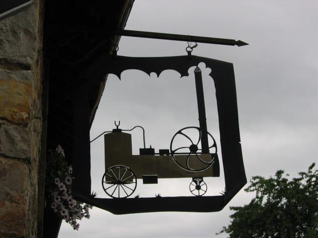 Enseigne musée de Juvigné