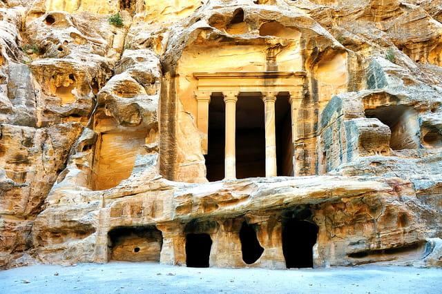 Ensemble rupestre de El Barid ( Petite Petra )