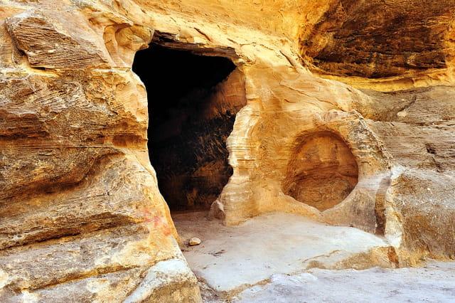 Entrée d'une salle à manger à El Barid ( Petite Petra )