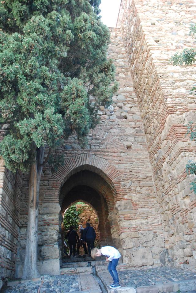 entrée de la forteresse