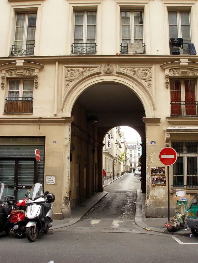 Entrée de la rue Gabriel Laumain