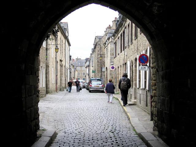 Entrée de la Vieille ville (4) Porte St.Malo