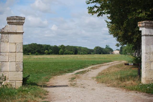 entrée du château Langoa Léoville