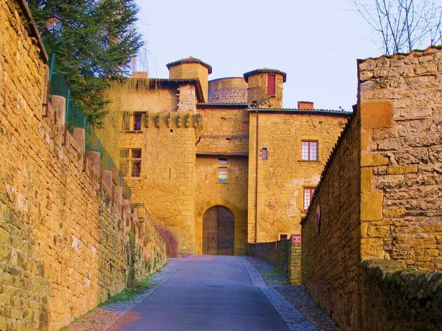 Entrée du Château XIIIè et XIVè s.