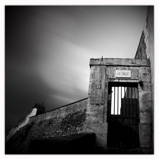 Entrée du cimetière de Saint Symphorien, Tours (37)