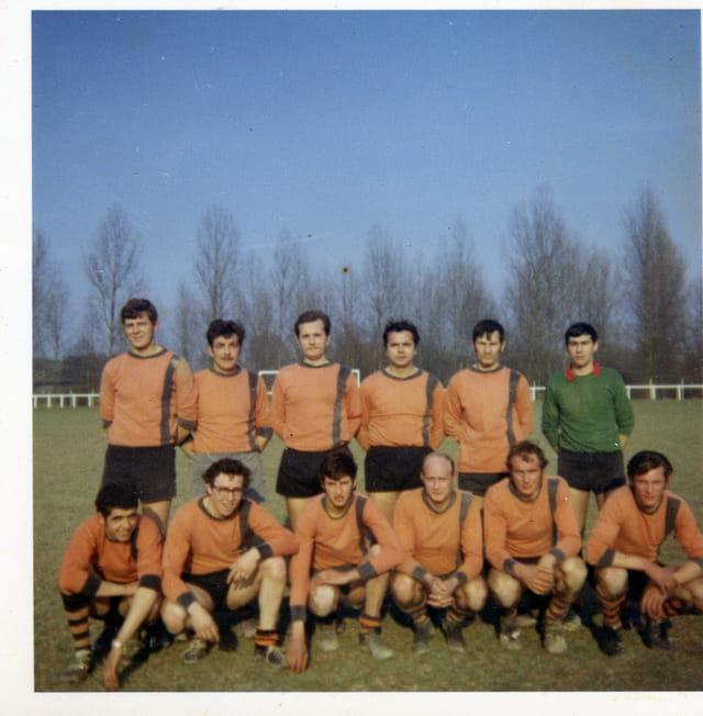 Equipe de foot du crotoy