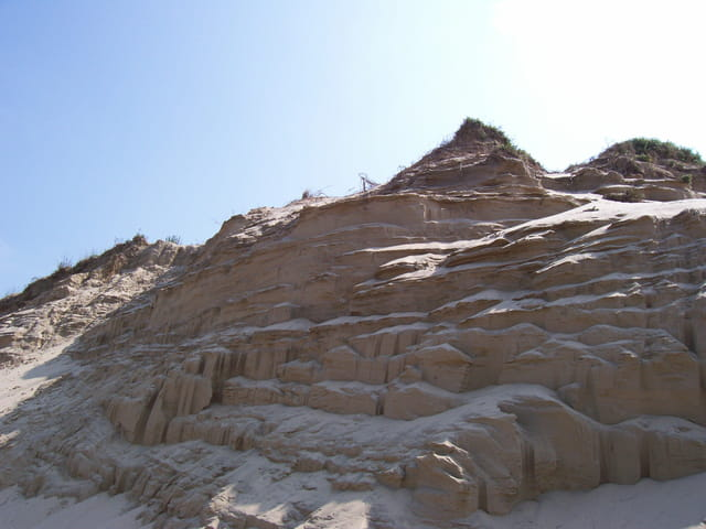 �rosion de la dune