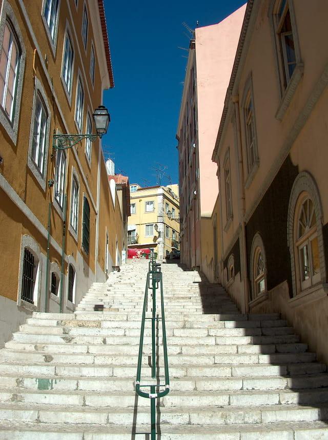 Escalier de lisbonne