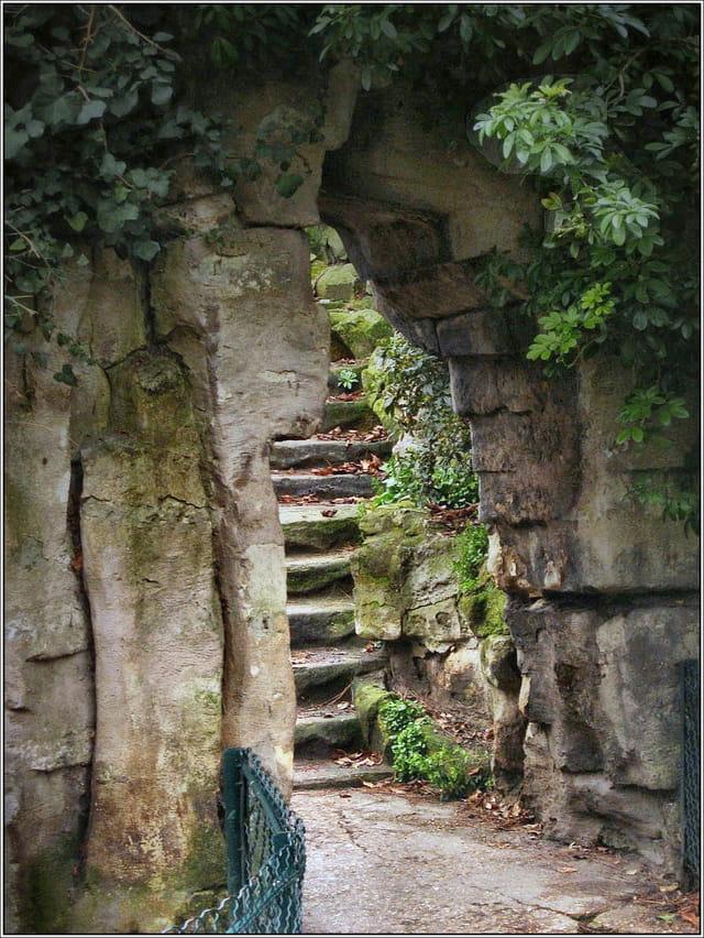 Escalier de pierre