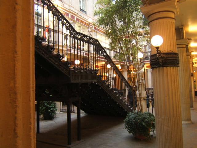Escalier du passage