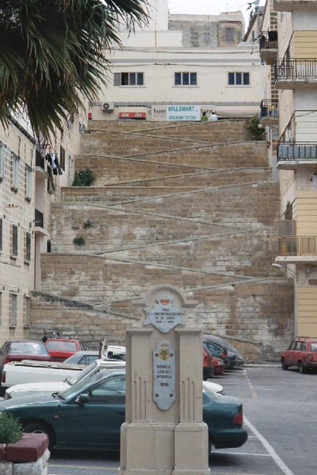 Escalier impressionnant