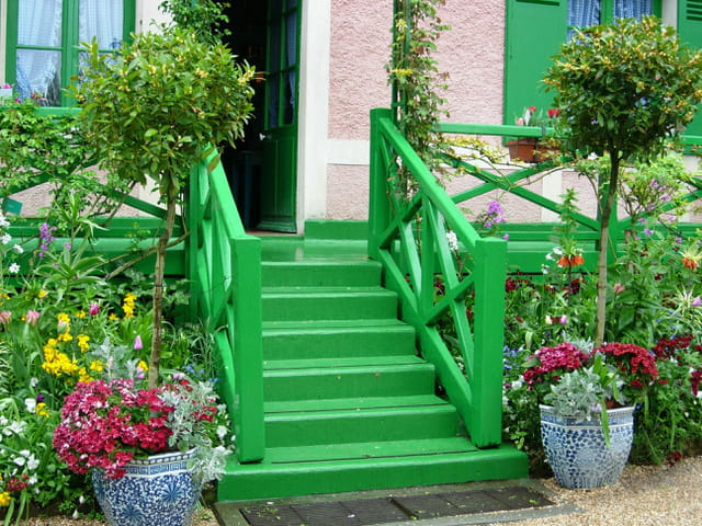 Escaliers de Monet
