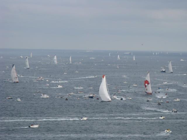 Et la flotte des IMOCA
