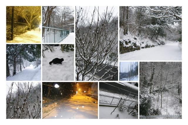 Et la neige fut....