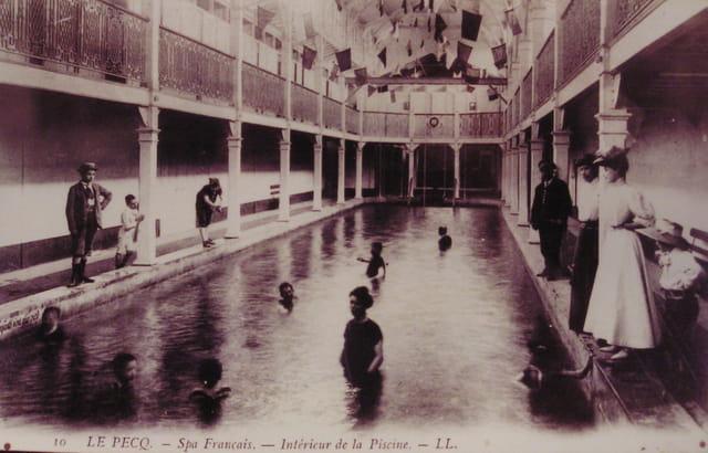 Etablissement thermal du pecq 1904
