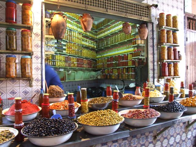 Etale d'olives