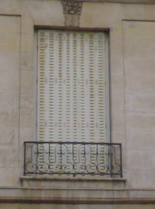 Etrange balcon