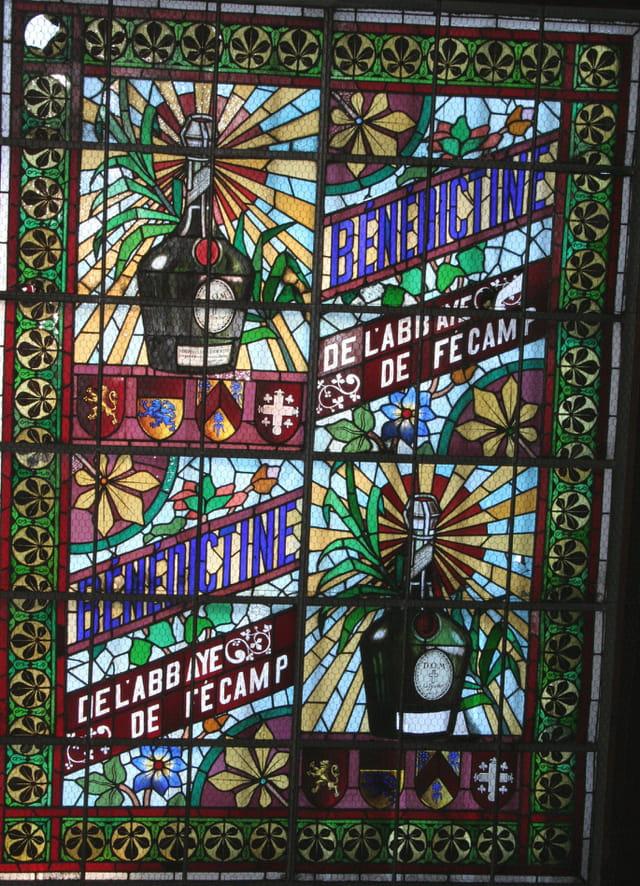 Vitrail abbaye de Fécamp
