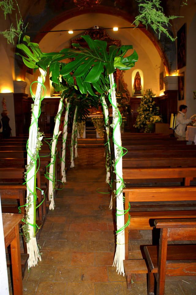 Expo florale église st pierre 2
