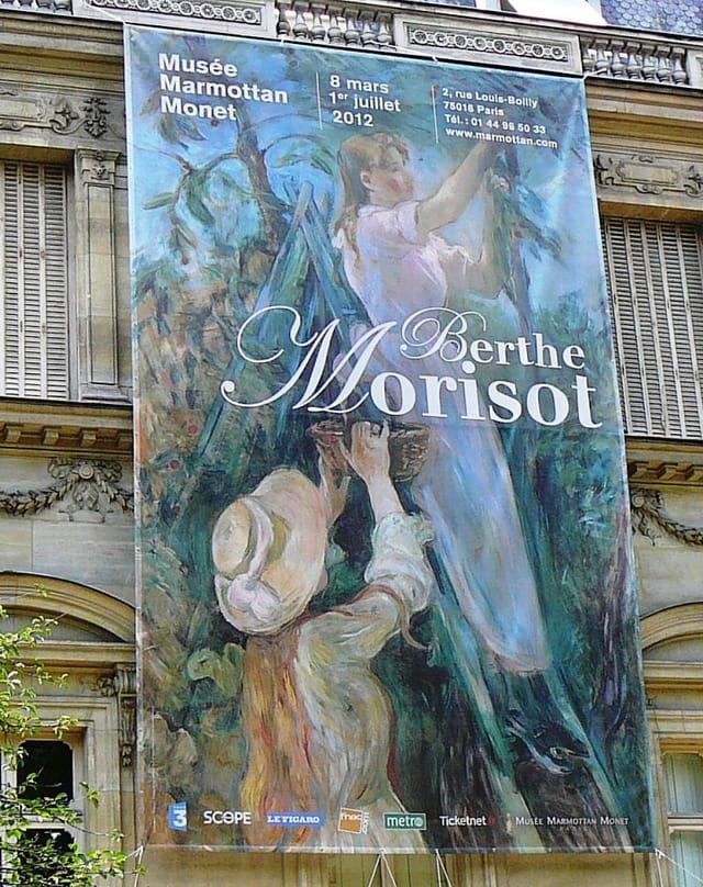 Exposition Berthe Morisot à Paris