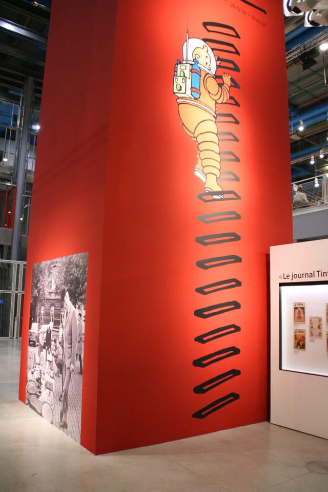 Exposition HERGE et TINTIN