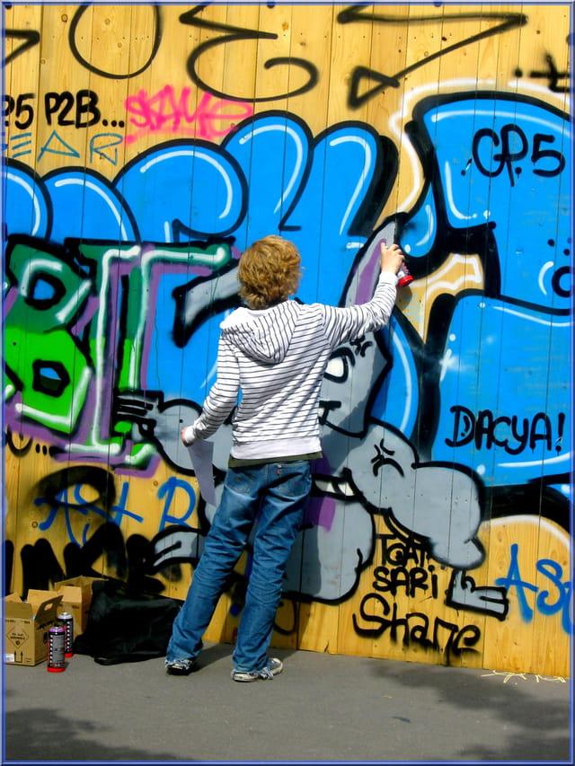 Expression libre du graffeur
