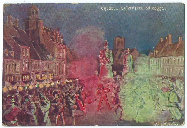 F59 CASSEL - La Rentrée du Reuze