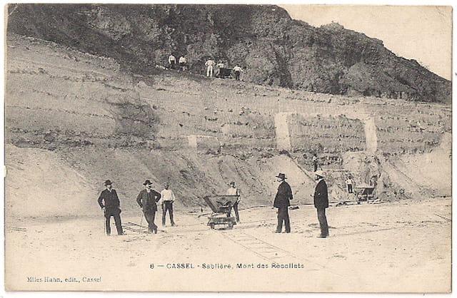 F59 CASSEL - Sablière, Mont des Récollets