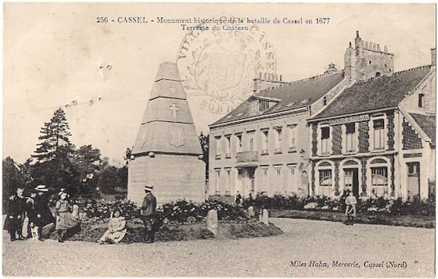 F59 MONT-CASSEL - Monument bataille de Cassel en 1677