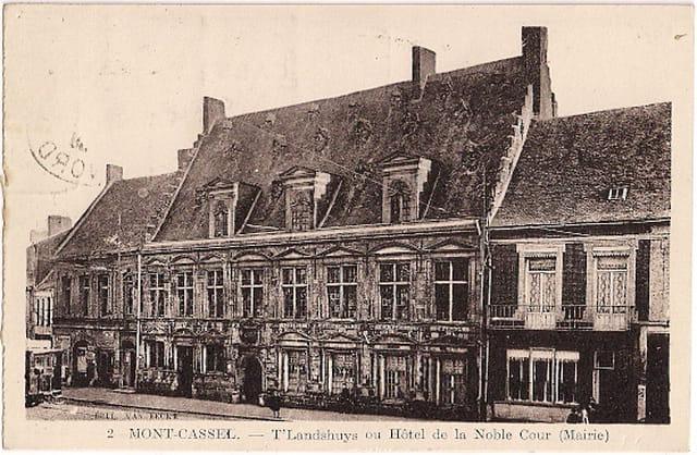 F59 MONT-CASSEL - T'Landshuys ou Hôtel de la Noble Cour