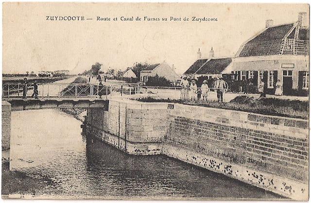 F59 ZUYDCOOTE - Pont de Zuydcoote