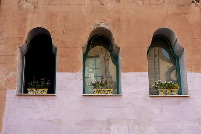 Façade au 3 fenêtres