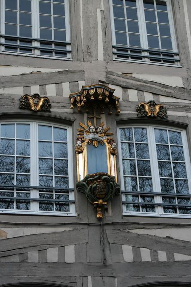 Façade d'immeuble Rouen