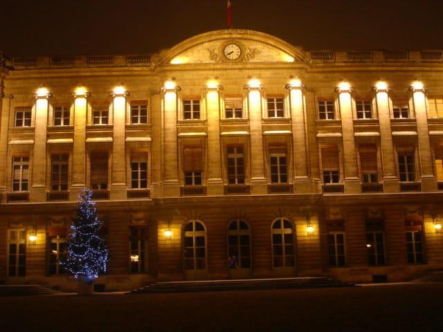 Facade de la Mairie de Bordeaux