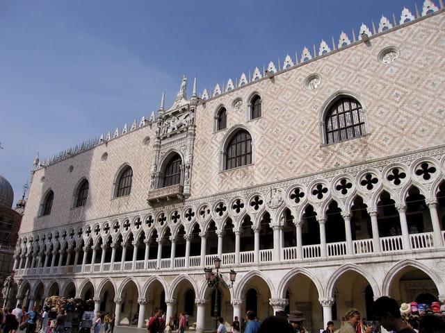 Façade du Palais des Doges