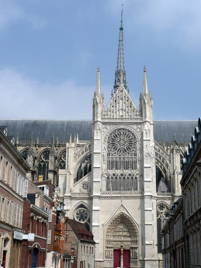 Façade est de la cathédrale d'Amiens