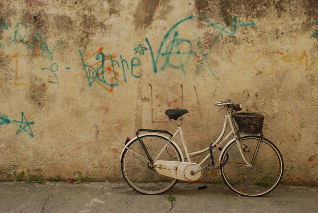 Façades et vélos italiens, J aime