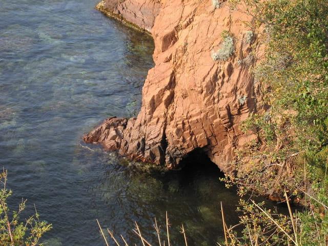 Failles dans la roche