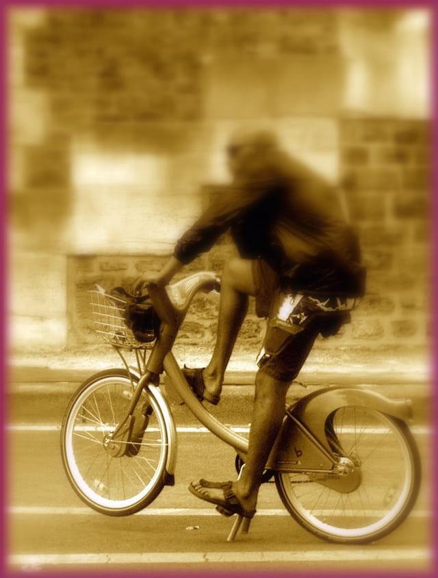 Faire une pause sur son Vélib'