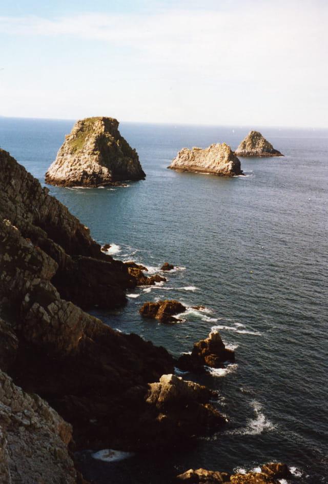 Falaise et rochers